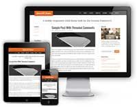 create a mobile site