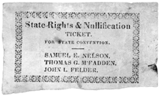 States' Rights, Slavery and the American Civil War