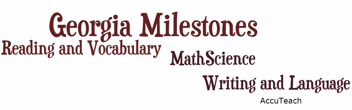 Georgia milestones assessment