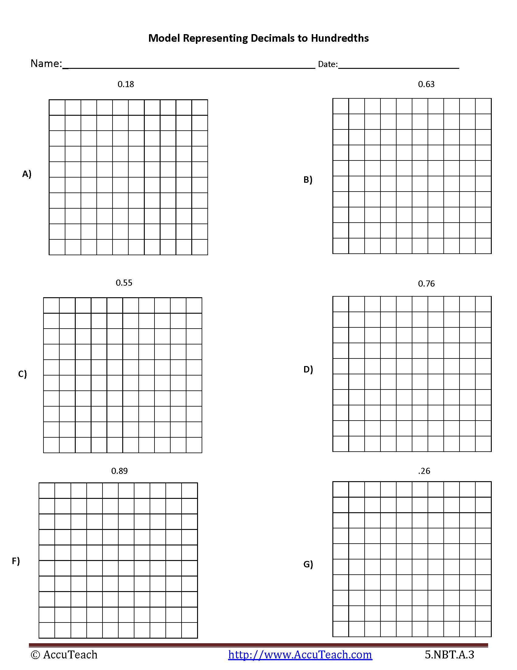 Canny image throughout printable hundredths grids