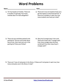 grade 5 math multiplication word problems free