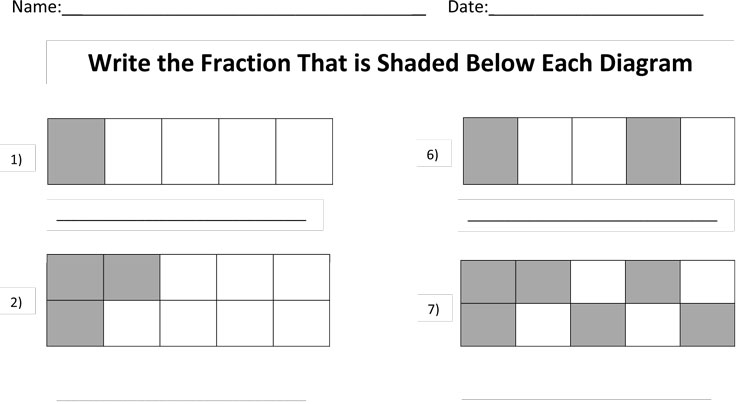 what is the fraction of the shaded area. Black Bedroom Furniture Sets. Home Design Ideas