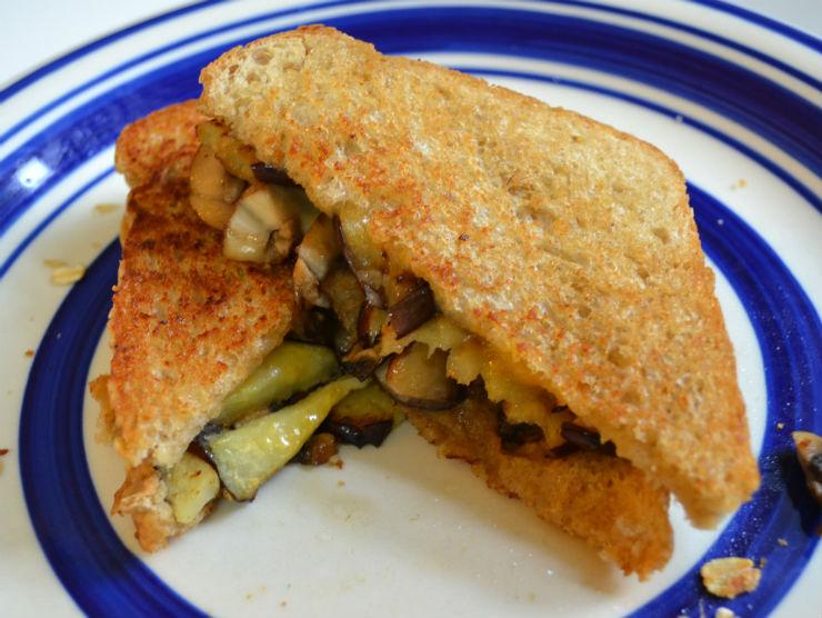 creamy-eggplant-mushroom-monte-cristo-sandwich