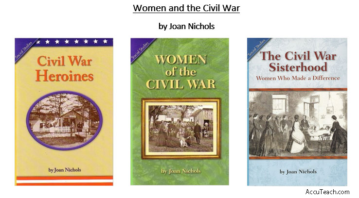 Women and the Civil War Books by Joan Nichols