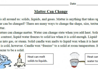 S2p1 Students Will Investigate The Properties Of Matter And Changes That Occur In Objects A Identify The Three Common States Of Matter As Solid Liquid Or Gas B Investigate Changes In Objects By T on State Of Matter Gas Examples