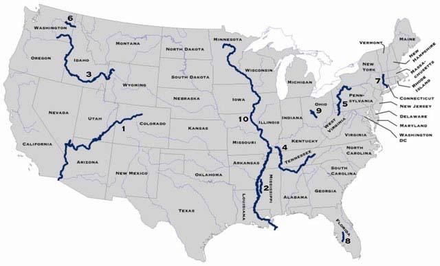 Locate The Colorado River - Calorado river us map