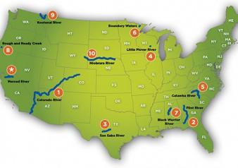 Us Map Colorado River Topics Mapping